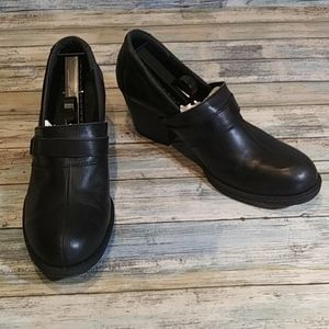 b.o.c by Born Leather Heeled Loafers